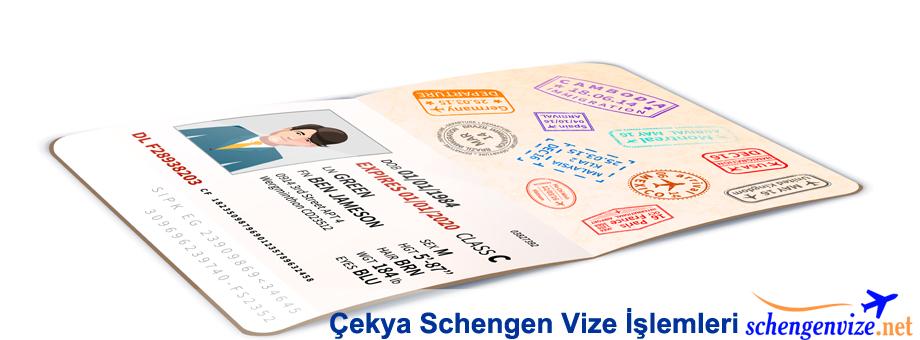 Çekya Schengen Vize İşlemleri