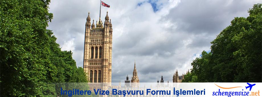 İngiltere Vize Başvuru Formu İşlemleri