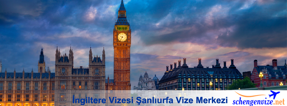 İngiltere Vizesi Şanlıurfa Vize Merkezi