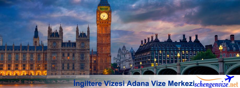 İngiltere Vizesi Adana Vize Merkezi