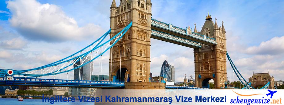 İngiltere Vizesi Kahramanmaraş Vize Merkezi