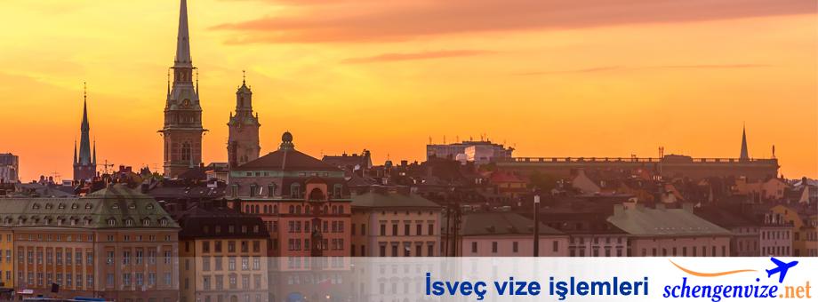 İsveç vize işlemleri