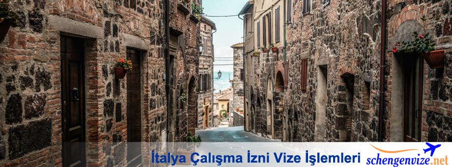 İtalya Çalışma İzni Vize İşlemleri