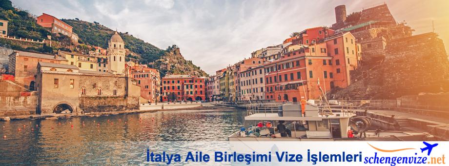İtalya Aile Birleşimi Vize İşlemleri