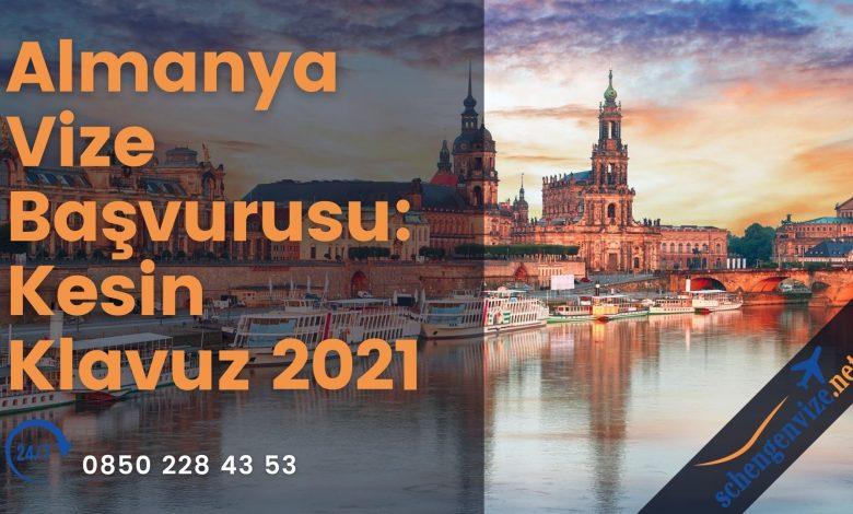 Almanya Vize Başvurusu: Kesin Klavuz 2021