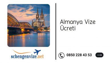 Almanya Vize Ücreti 2021