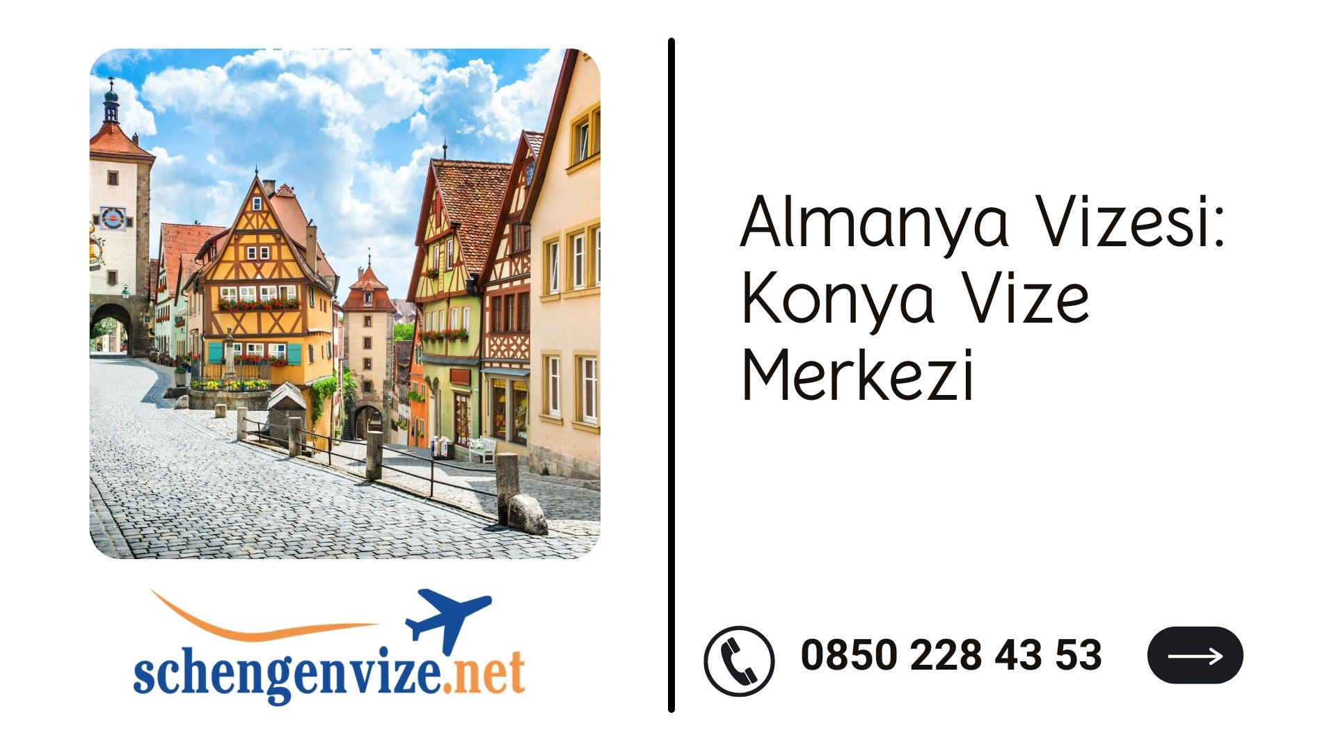 Almanya Vizesi: Konya Vize Merkezi