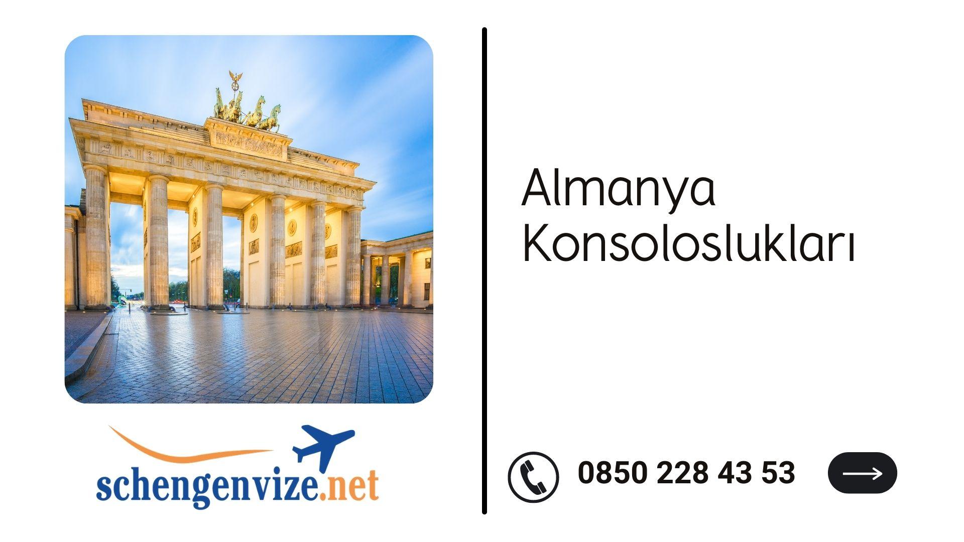 Almanya konsoloslukları