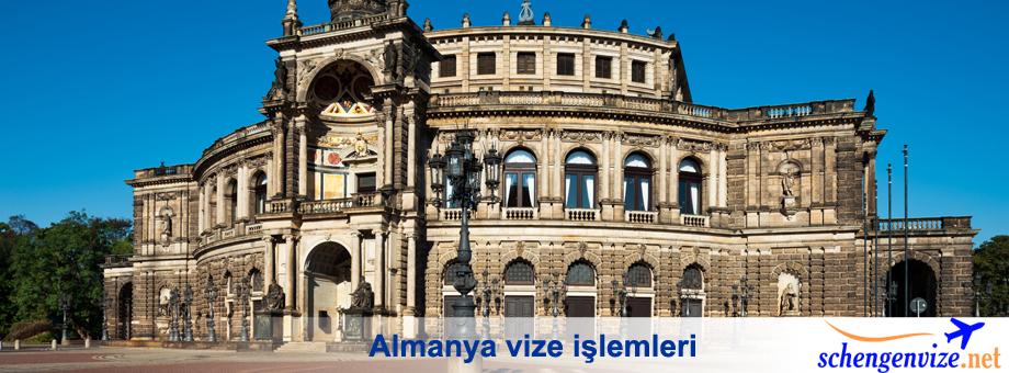 Almanya vize işlemleri