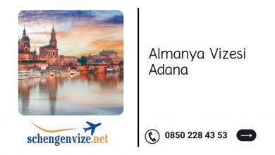 Almanya vizesi Adana