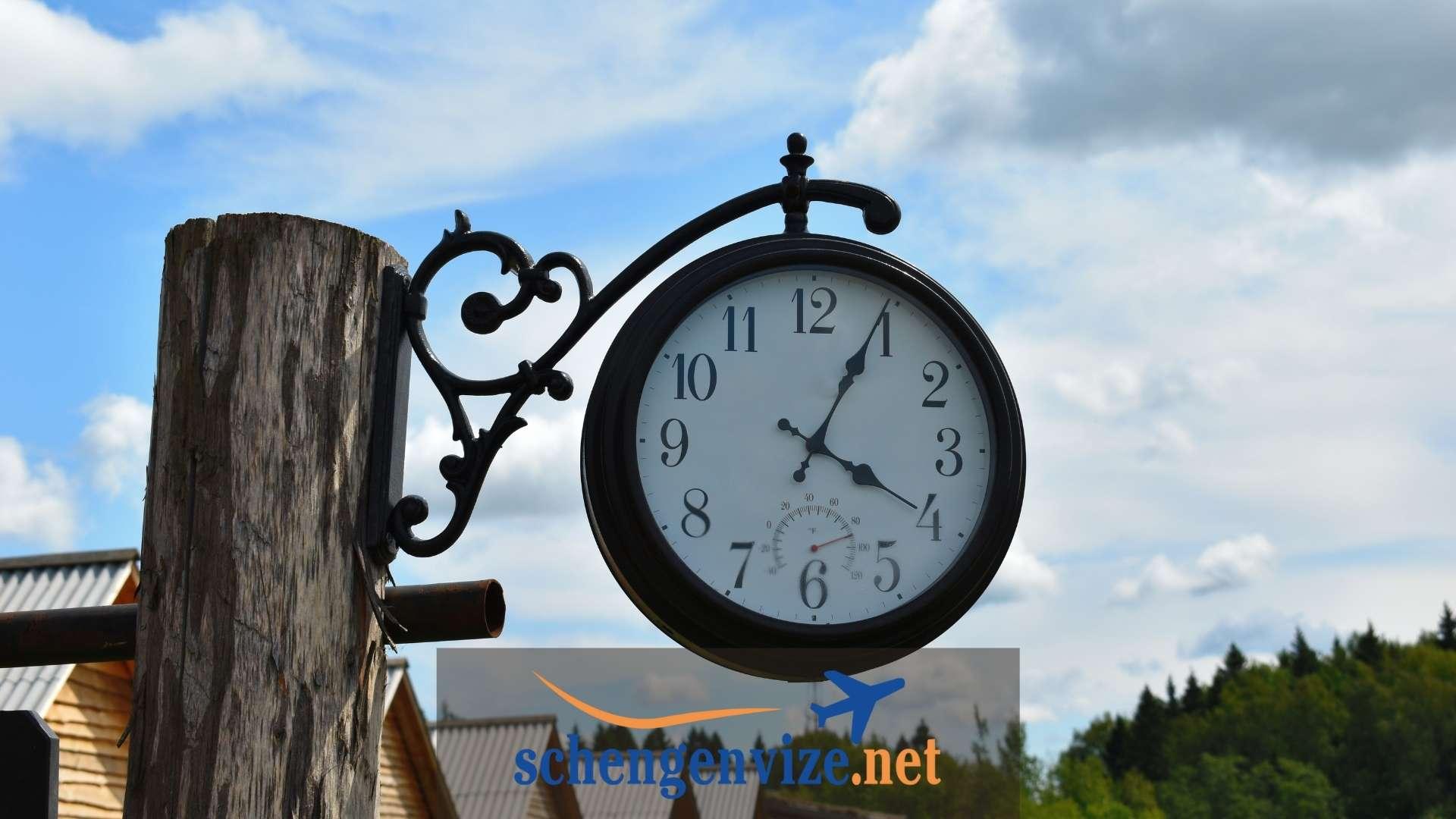 Almanya'da Saat Kaç