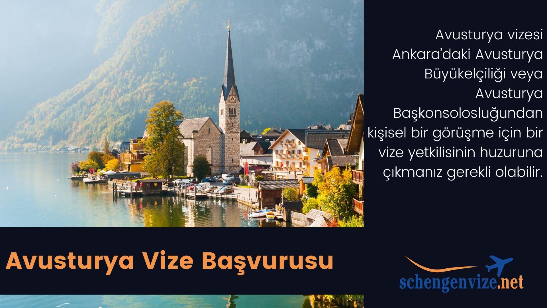 Avusturya Vizesi İşlemleri