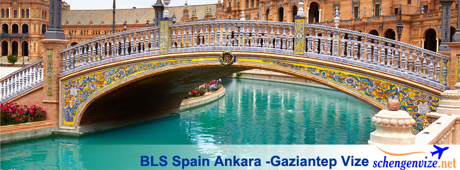 BLS Spain Ankara, BLS Spain Ankara -Gaziantep Vize