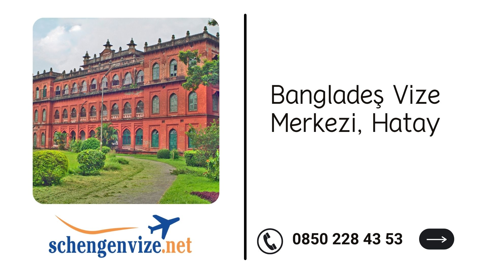 Bangladeş Vize Merkezi, Hatay