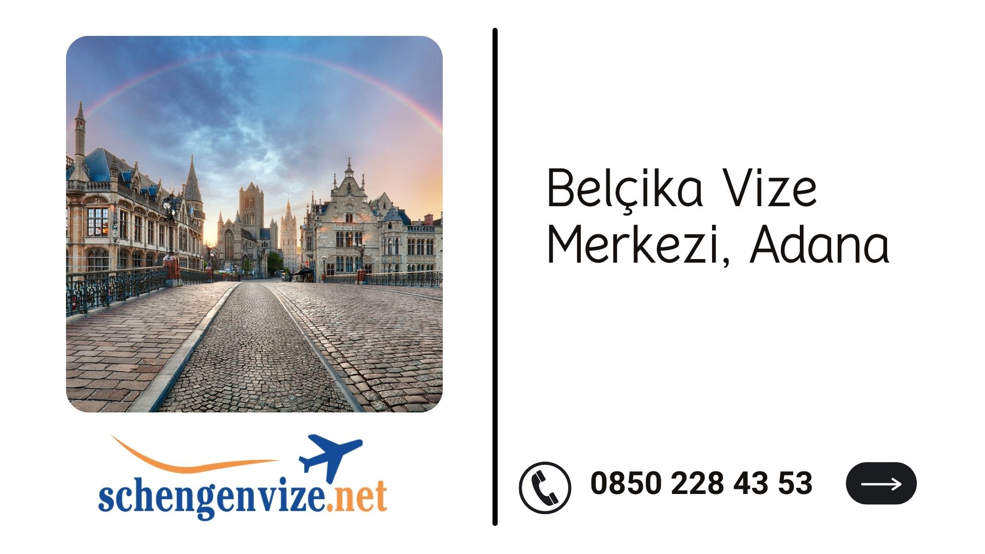 Belçika Vize Merkezi, Adana