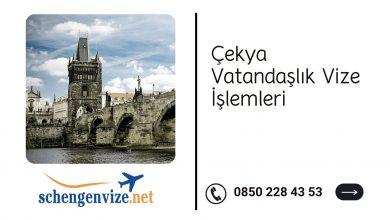 Çekya Vatandaşlık Vize İşlemleri