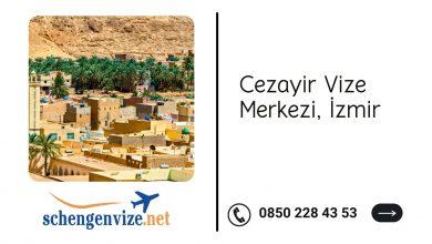 Cezayir Vize Merkezi, İzmir