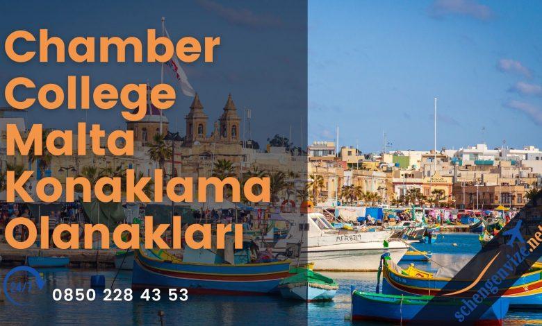 Chamber College Malta Konaklama Olanakları