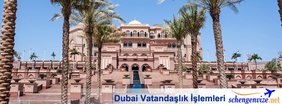 Dubai Vatandaşlık İşlemleri