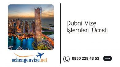 Dubai Vize İşlemleri Ücreti
