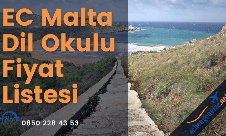 EC Malta Dil Okulu Fiyat Listesi