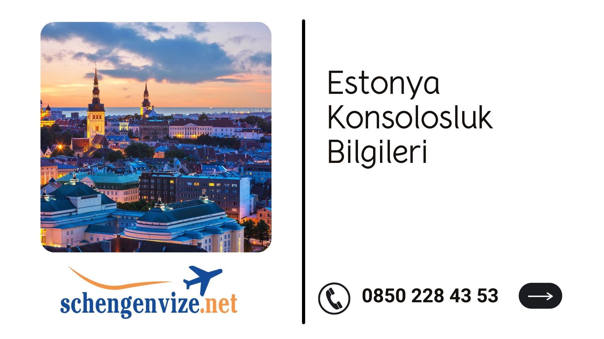 Estonya Konsolosluk Bilgileri