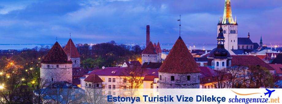 Estonya Turistik Vize Dilekçe