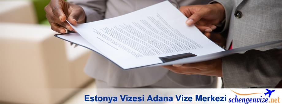 Estonya Vizesi Adana Vize Merkezi