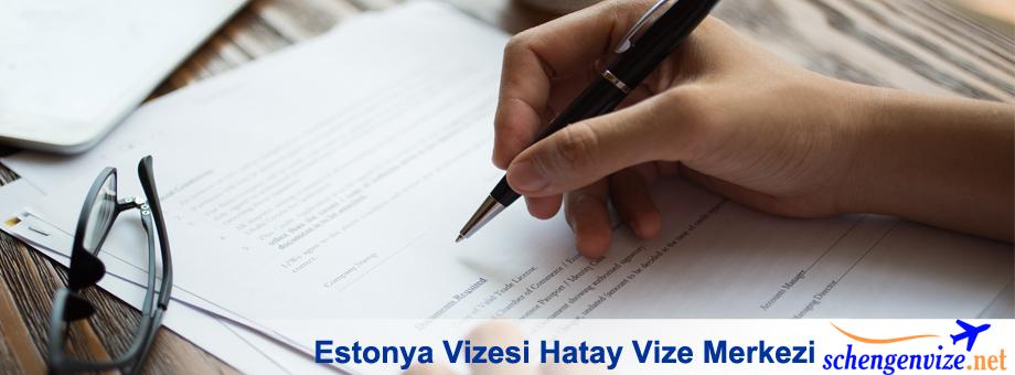 Estonya Vizesi Hatay Vize Merkezi