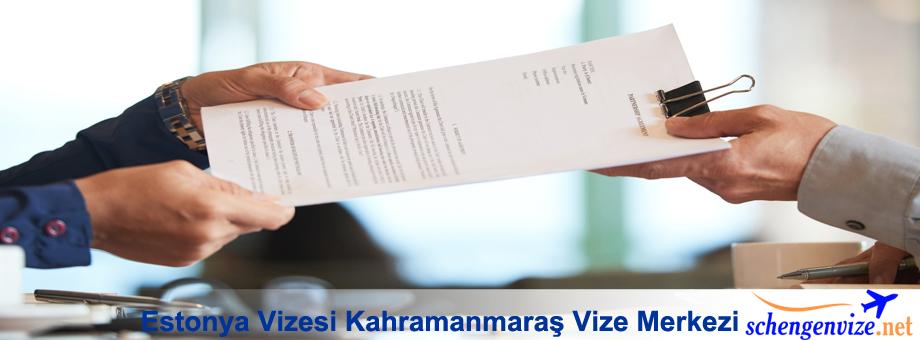 Estonya Vizesi Kahramanmaraş Vize Merkezi