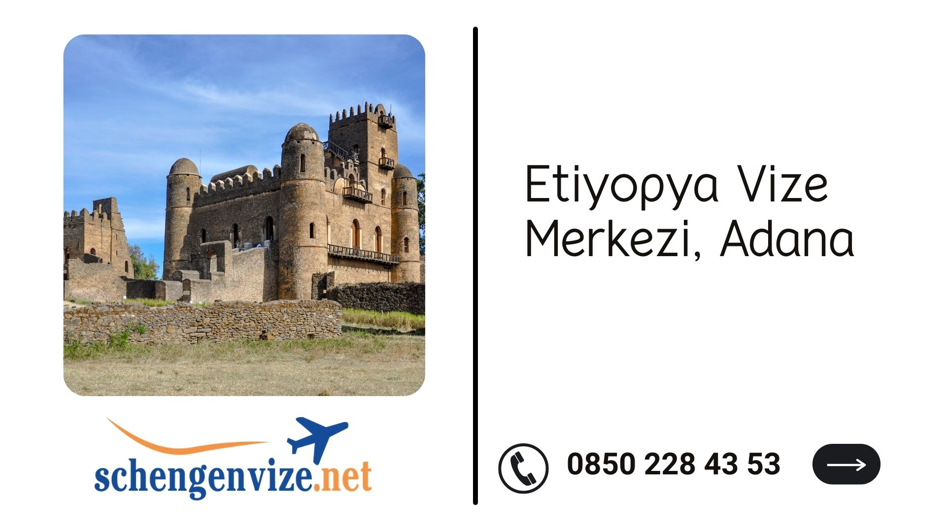 Etiyopya Vize Merkezi, Adana