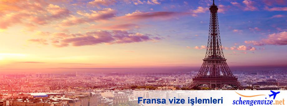 Fransa vize işlemleri