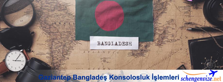 Gaziantep Bangladeş Konsolosluk, Gaziantep Bangladeş Konsolosluk İşlemleri