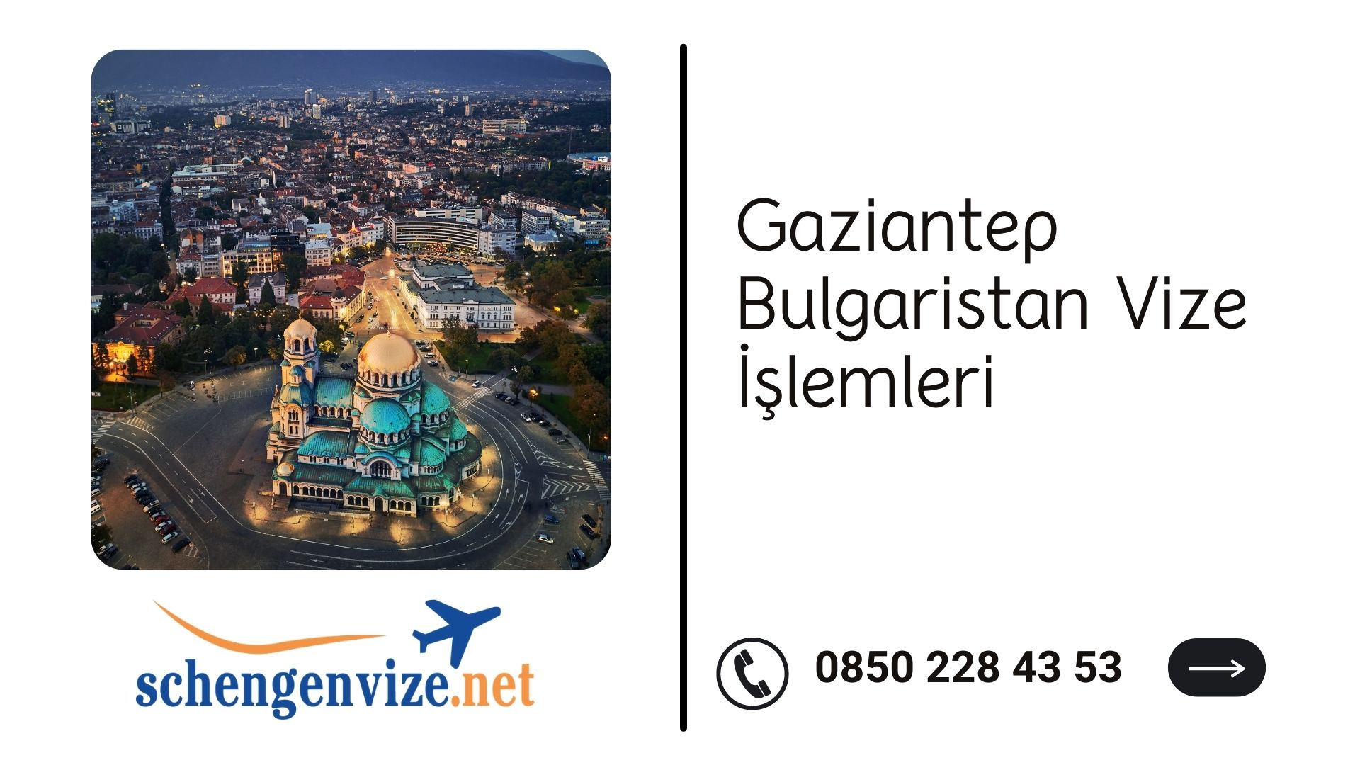 Gaziantep Bulgaristan Vize İşlemleri