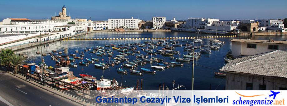 Gaziantep Cezayir Vize, Gaziantep Cezayir Vize İşlemleri