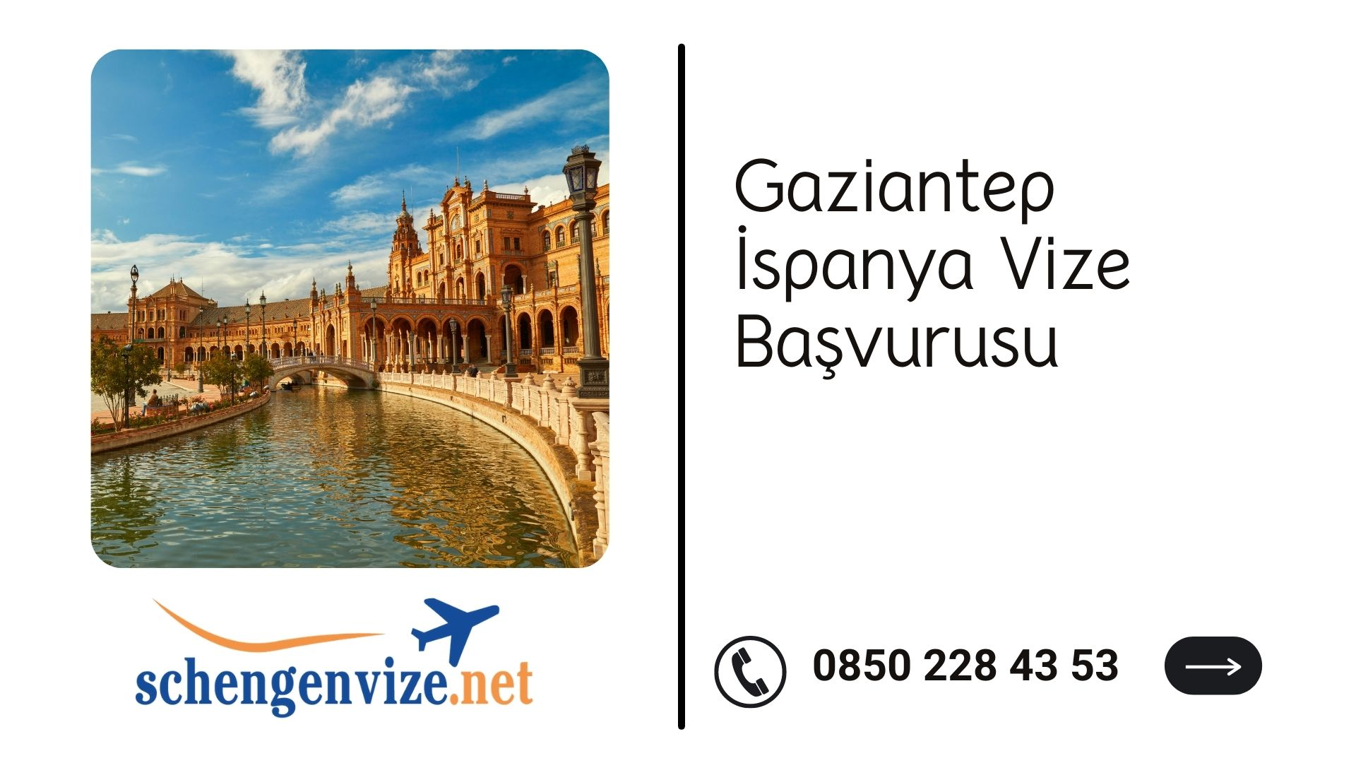Gaziantep İspanya Vize Başvurusu
