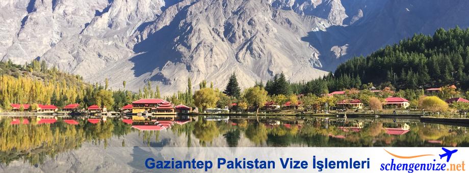 Gaziantep Pakistan Vize, Gaziantep Pakistan Vize İşlemleri