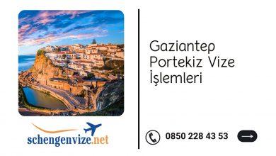 Gaziantep Portekiz Vize İşlemleri