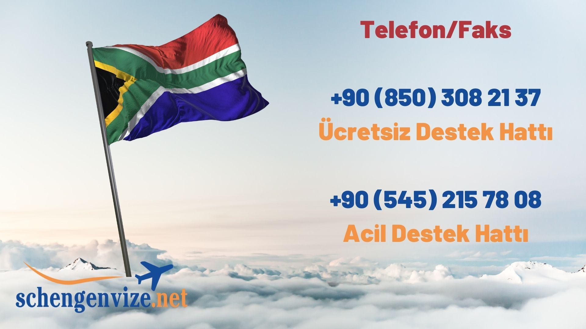 Güney Afrika Vize İstiyor Mu