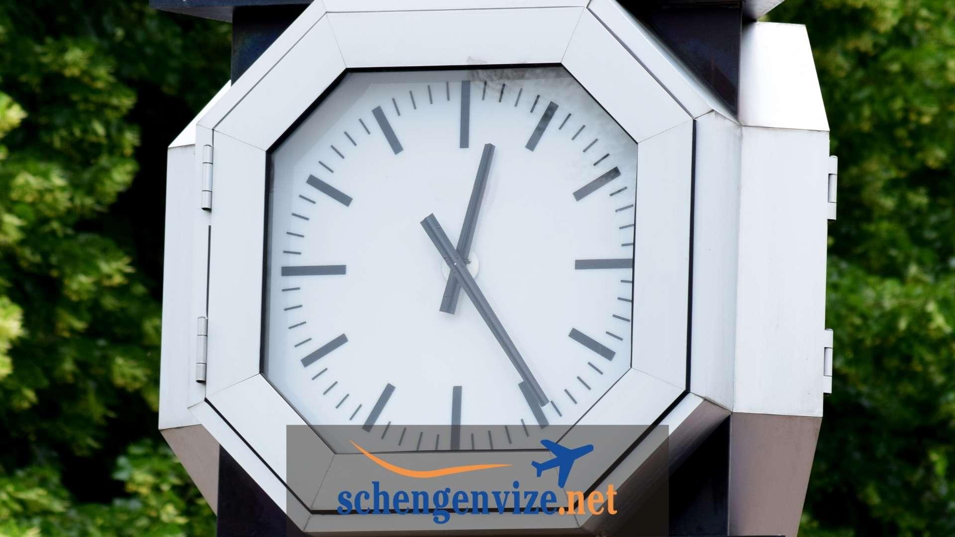 Hollanda Saat Kaç
