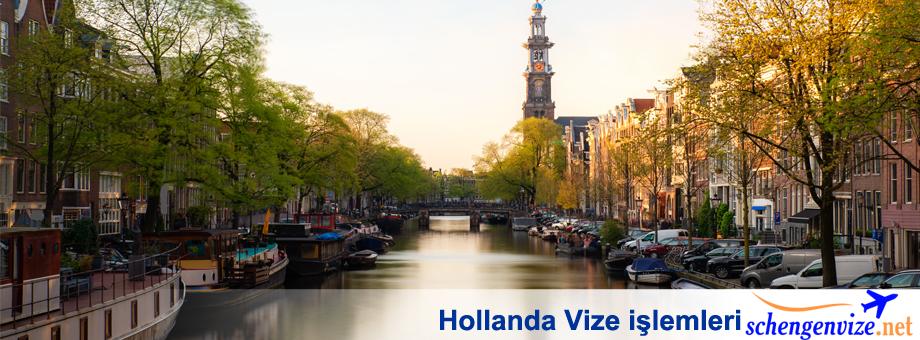 Hollanda Vize işlemleri