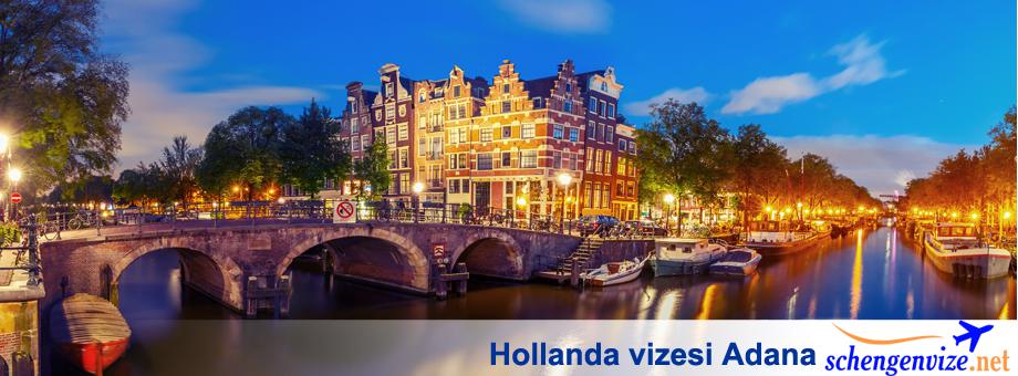 Hollanda vizesi Adana