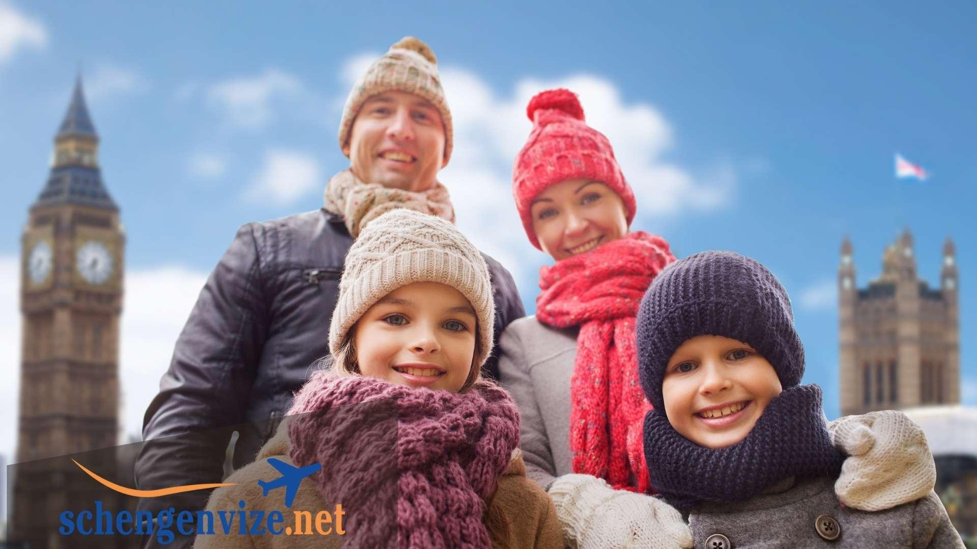 İngiltere Aile Ziyareti Vizesi Ücreti