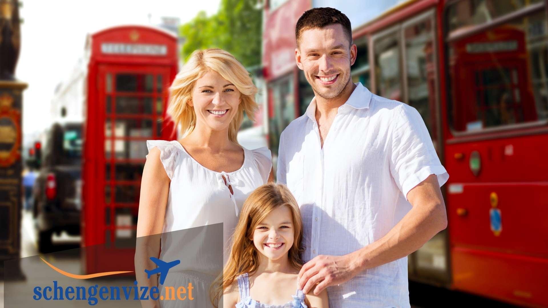 İngiltere Aile Ziyareti Vizesi