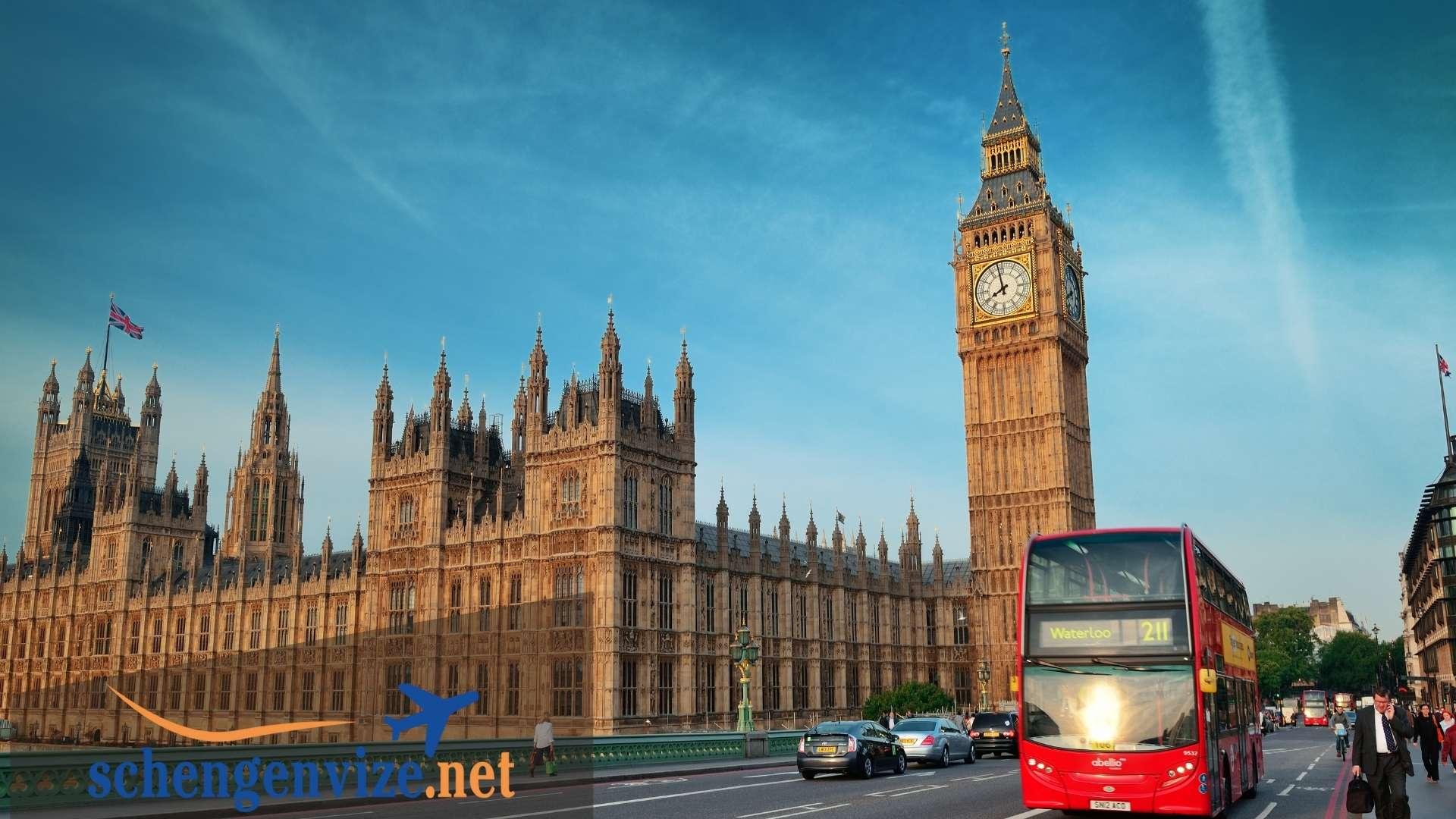 İngiltere Turistik Vize İçin Gerekli Evraklar Nelerdir?