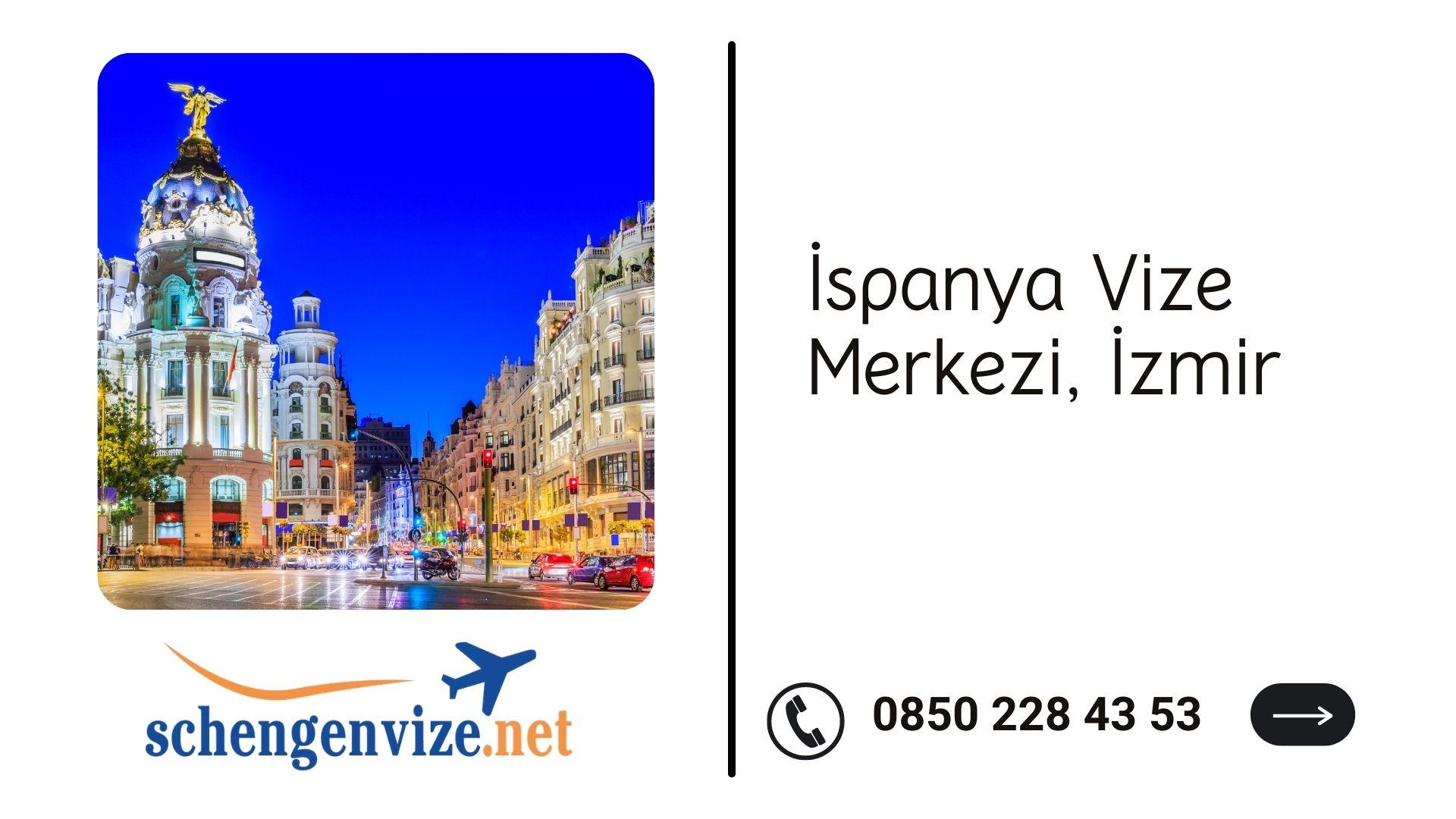 İspanya Vize Merkezi, İzmir