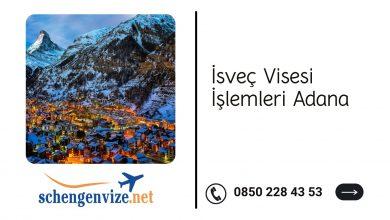 İsveç Vizesi İşlemleri Adana