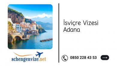 İsviçre vizesi Adana