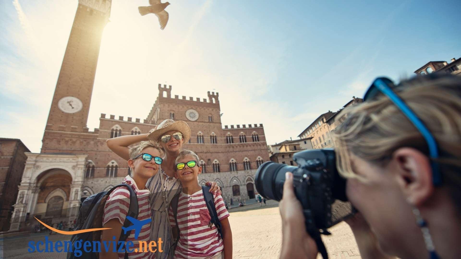 İtalya Aile Ziyareti İçin Yapılacak Olan Vize Başvuruları