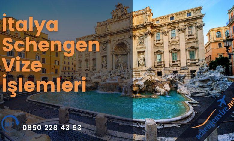 İtalya Schengen Vize İşlemleri